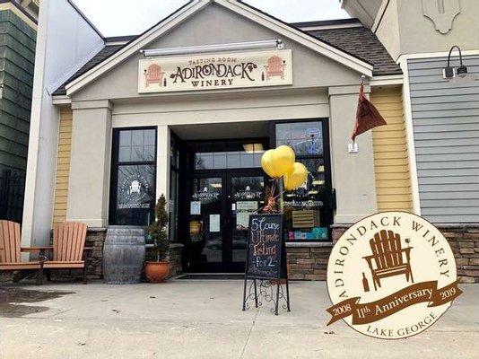 Adirondack Winery Lake George Tasting Room