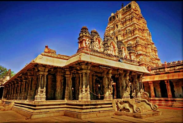 ಹಂಪಿ ವಿರೂಪಾಕ್ಷ ದೇವಾಲಯ Hampi Virupaksha Temple