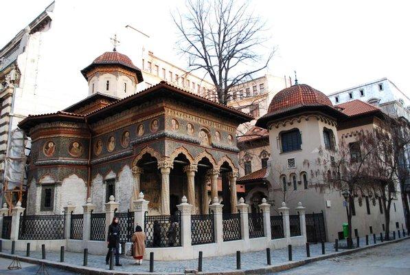 Stavropoleos Monastery Church