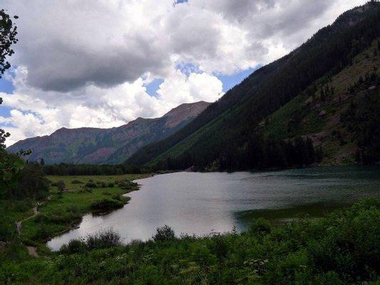 Maroon Lake Trailhead