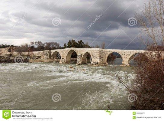 Historic Aspendos Bridge