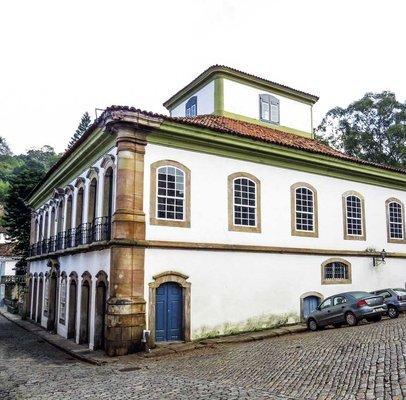 Casa dos Contos - Museu e Centro de Estudos do Ciclo do Ouro/SAMF/MG