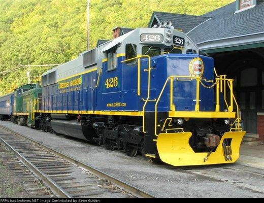 Lehigh Gorge Scenic Railway trademark of Reading & Northern Railroad