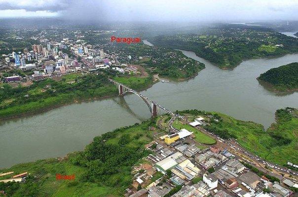 Ponte da Amizade, Cidade do Leste, Paraguai