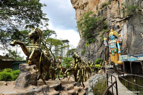 Ramayana Cave - Suyambu Lingam