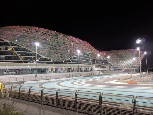 Yas Marina Circuit - F1 Track