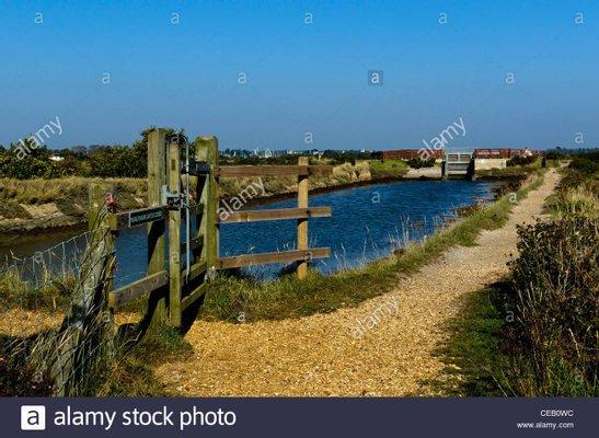 Solent Way Footpath