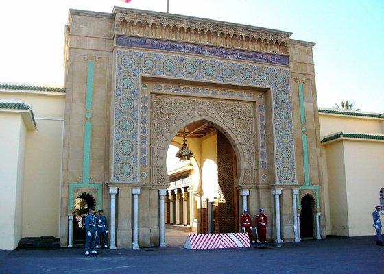 Royal palace of Rabat
