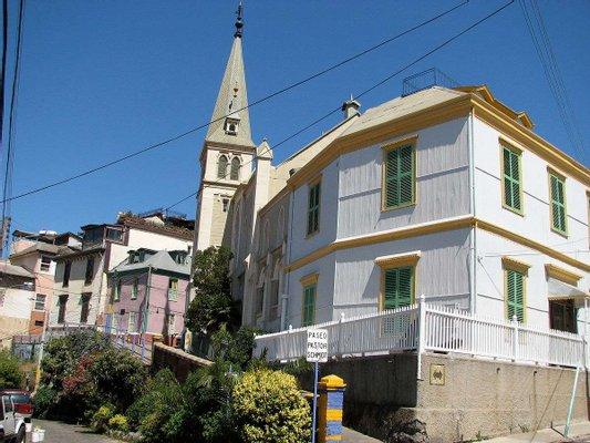 Cerro Concepcion, Valparaiso