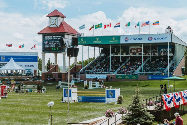 International Ring at Spruce Meadows