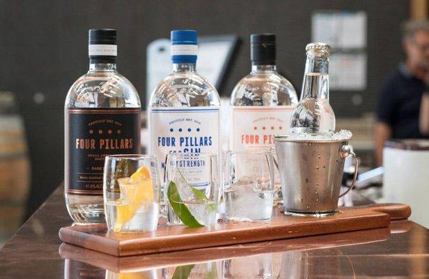 Four Pillars Gin Distillery
