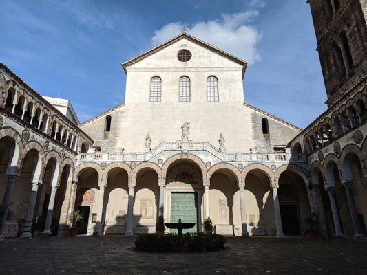 Cattedrale di Santa Maria degli Angeli, San Matteo e San Gregorio VII