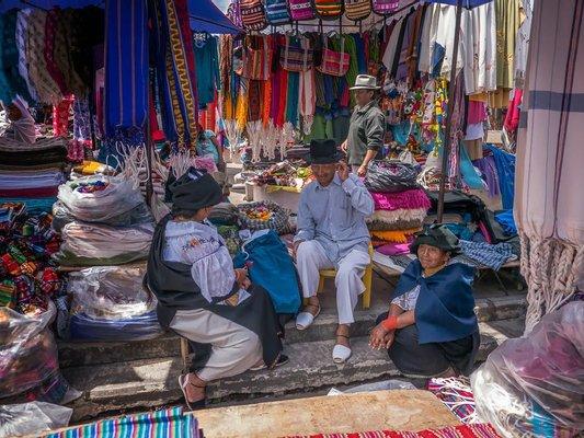 Visit Otavalo Market and Lodging