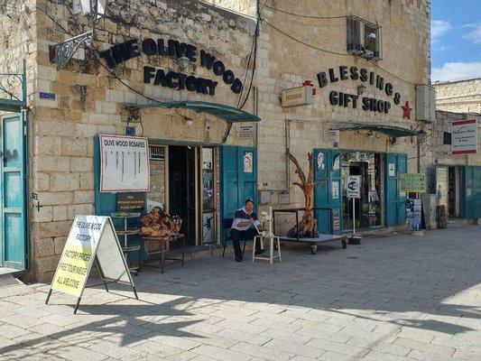 Bethlehem Olive Wood Factory Wholesaler