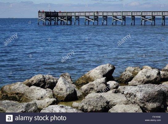 Fort Island Gulf Beach Fishing Pier