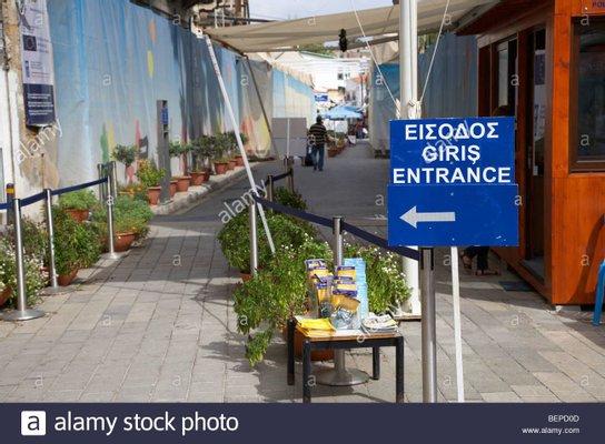 Ledra Street Crossing Point