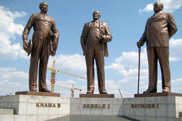 The Three Dikgosi Monument