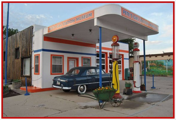 Pete's Route 66 Gas Station Museum