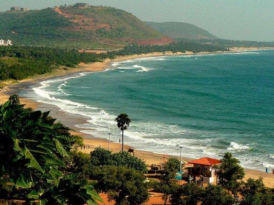 Rushikonda Beach