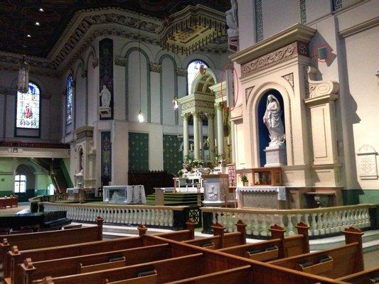 Parish St. John the Baptist - Church Atibaia Matrix