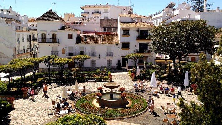 Plaza de las Flores de Estepona