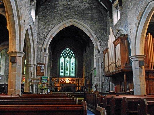 St Michael & All Angel's Church, Hathersage