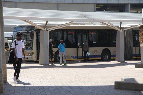 Gautrain Bus Stop