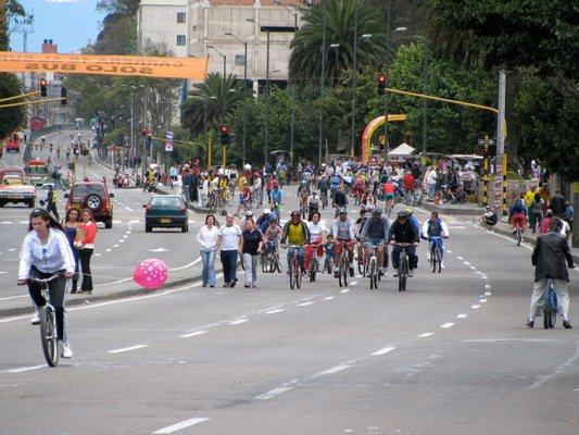 Biking Bogotá