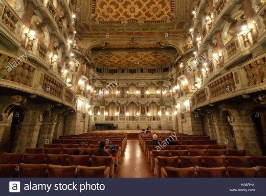 Scientific Bibiena Theater