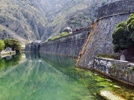Kotor Old Town City Walls