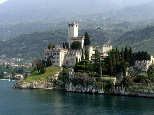 Scaliger Castle in Malcesine