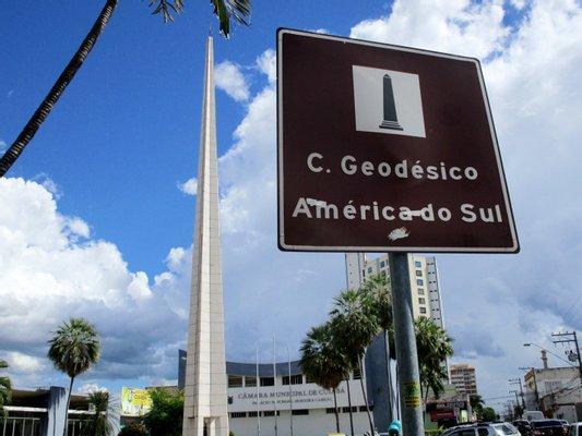 América do Sul Geodesic Center