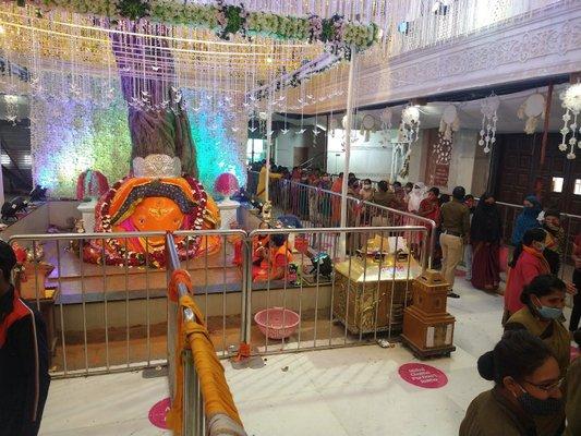 Shri Ganesh Mandir Tekdi