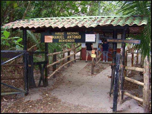 Park Entry, Parque Manuel Antonio