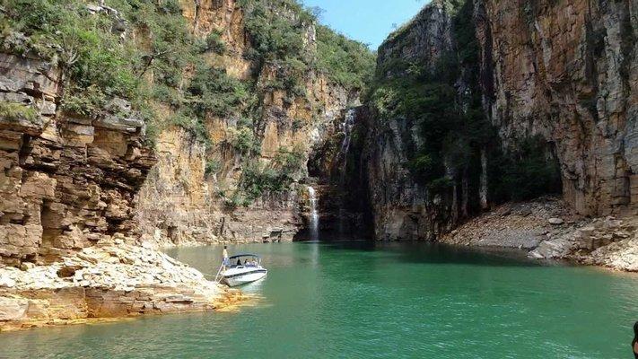Cachoeira do Canyon de Furnas