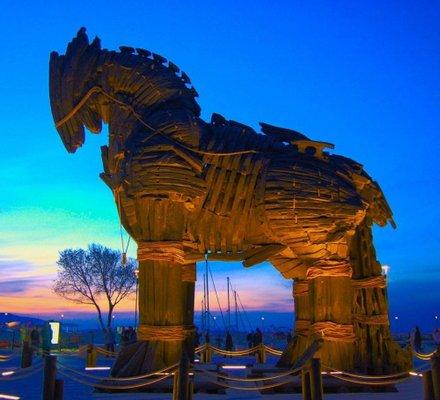 Trojan Statue