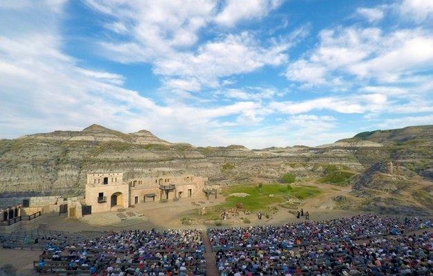 The Badlands Amphitheatre