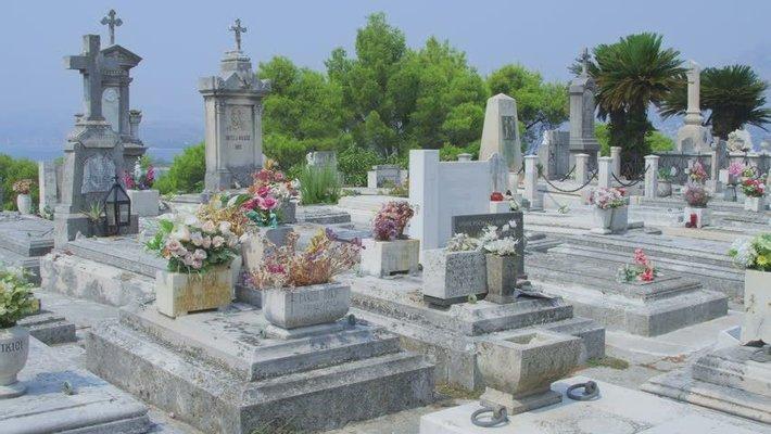Cavtat cemetery, croatia