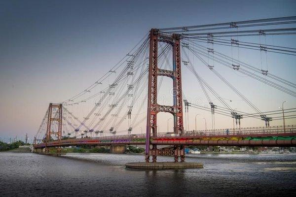 Suspended Bridge Eng. Marcial Candioti