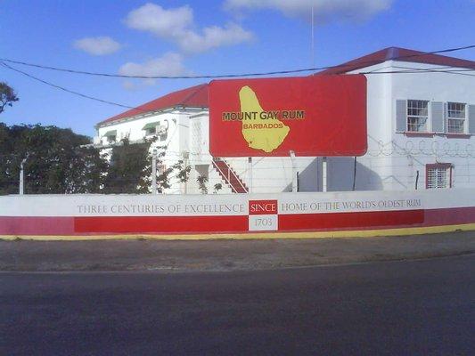 Mount Gay Visitors' Centre