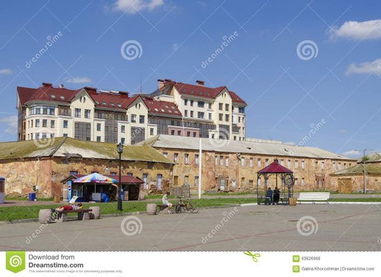 Omsk fortress, historical and cultural complex