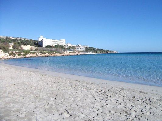 Mellieha Beach Bay