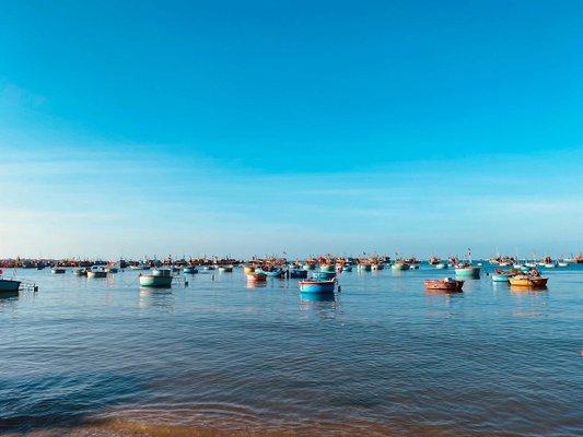 Fishing Harbour - Mui Ne