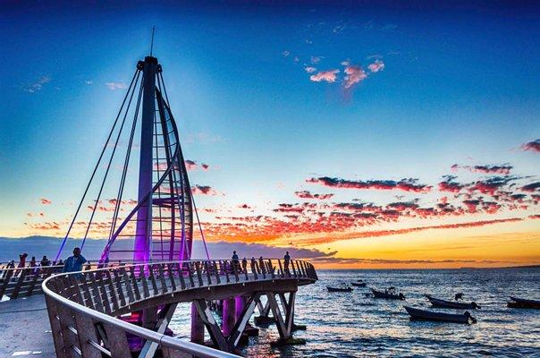 Playa Los Muertos Dock