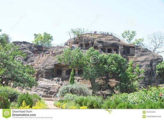 Shri Panch Pandav Caves. Pachmarhi