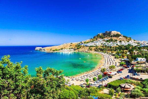 Beach of Lindos