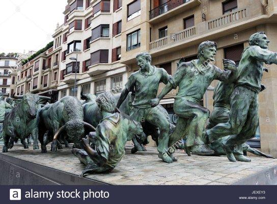 Encierro/Entzierroa Monument