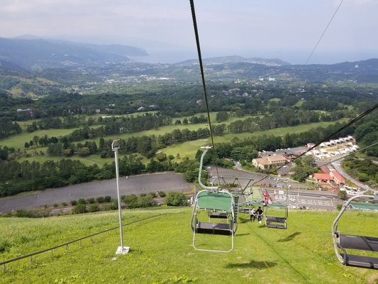 Mount Omuro Climbing Chairlifts
