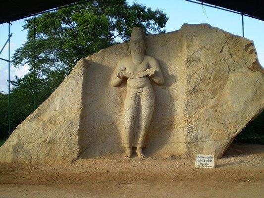 Pulasthi Rishi Statue