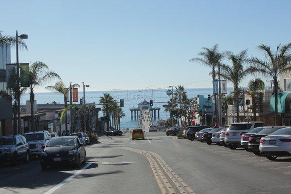 Downtown Manhattan Beach